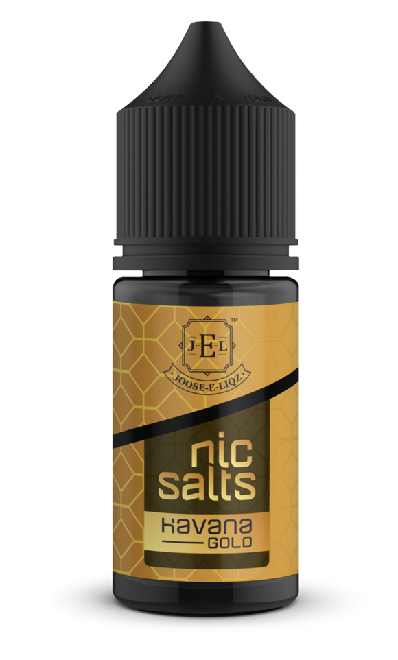 JOOSE-E-LIQZ HAVANA GOLD NIC SALTS 30 ML