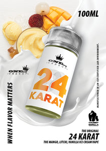 TKO ONE OZ 24 Karat 100 ML