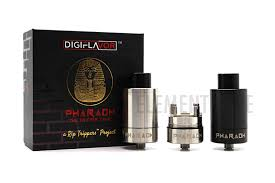 Digiflaour Pharaoh 25 Dripper  Steel