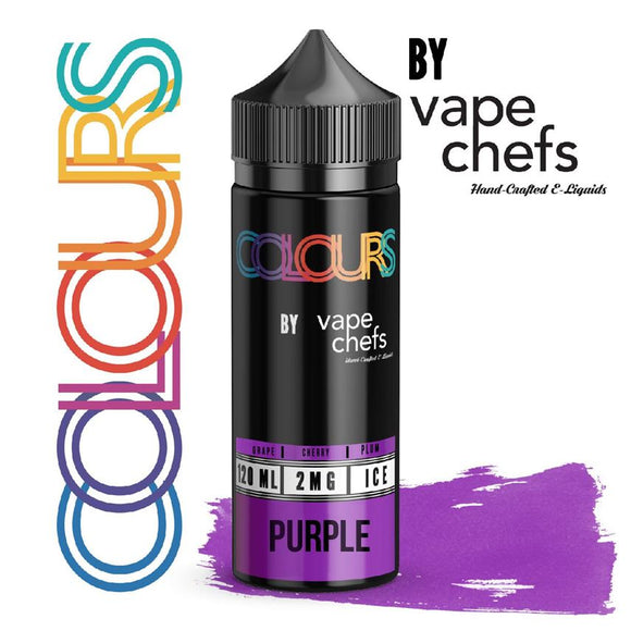Vape Chefs Colours Purple 120 Ml