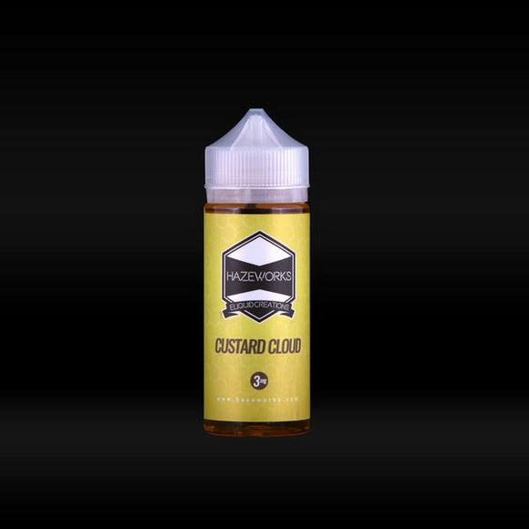 HAZEWORKS CUSTARD CLOUD 120 ML