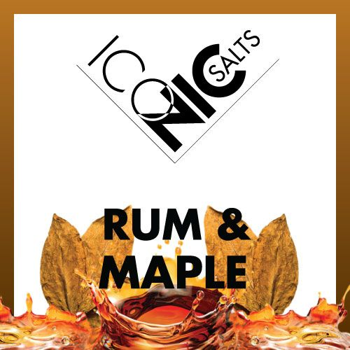 ESHELI ICONIC SALTS RUM AND MAPLE