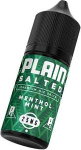 Plain Salted MENTHOL MINT