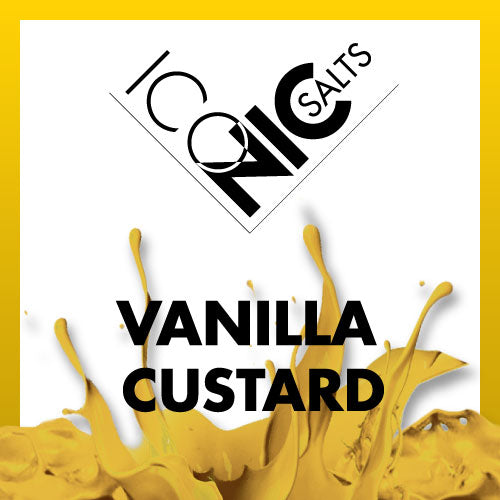 ESHELI ICONIC SALTS VANILLA CUSTARD
