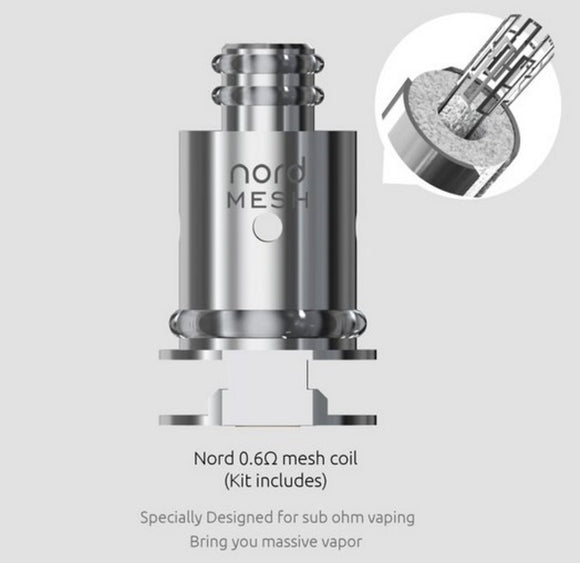 Smok Nord Mesh 0.6oHm Coil
