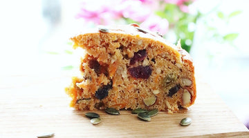 Sugar free recipe: Spiced carrot cake