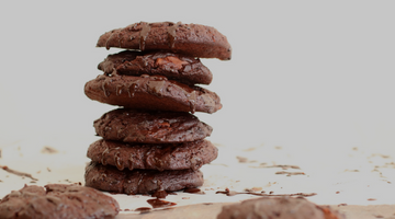 Sugar free recipe: Double chocolate chunk cookies