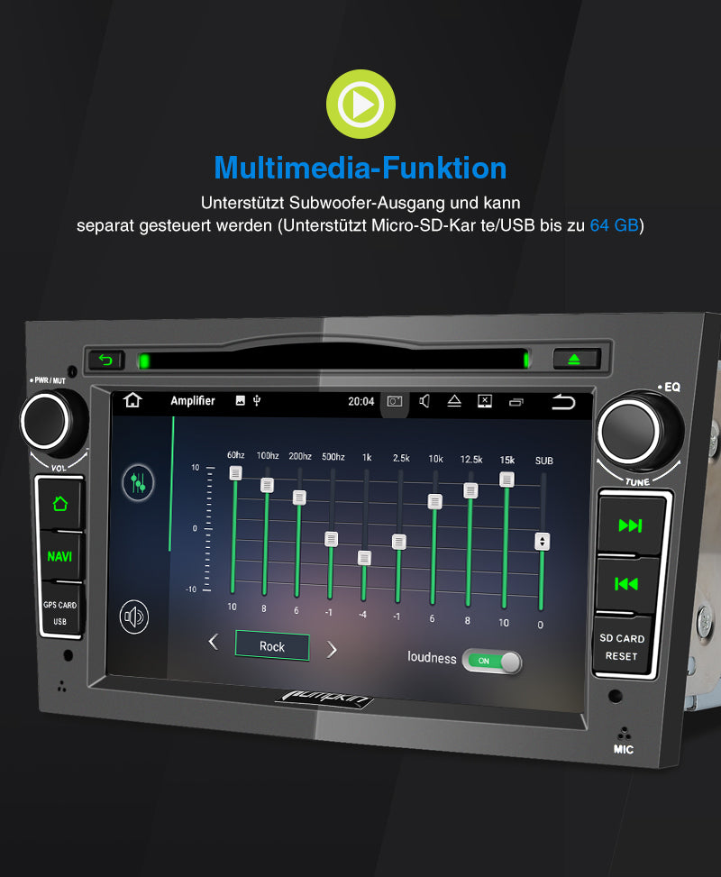opel multimedia autoradio