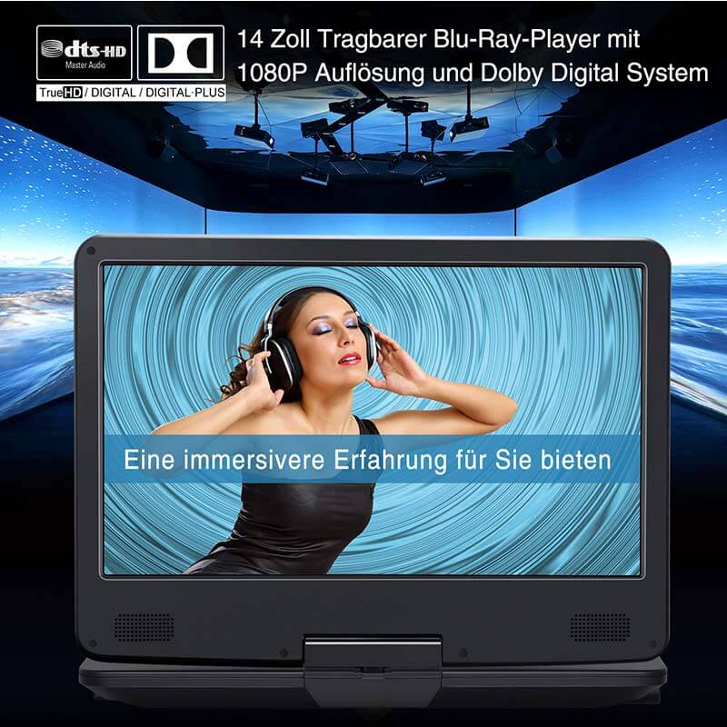 blu ray player mit display