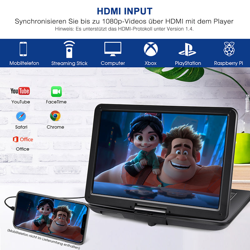 tragbare dvd player