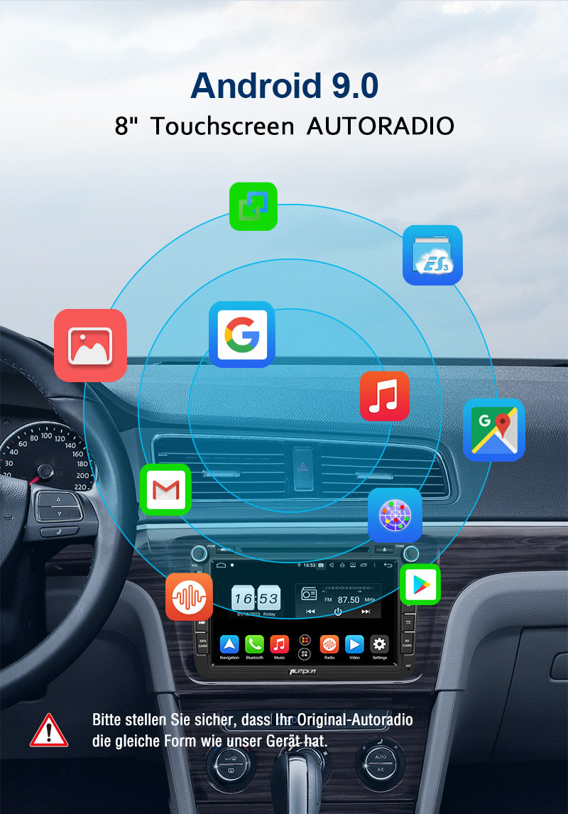 vw Polo 6R radio
