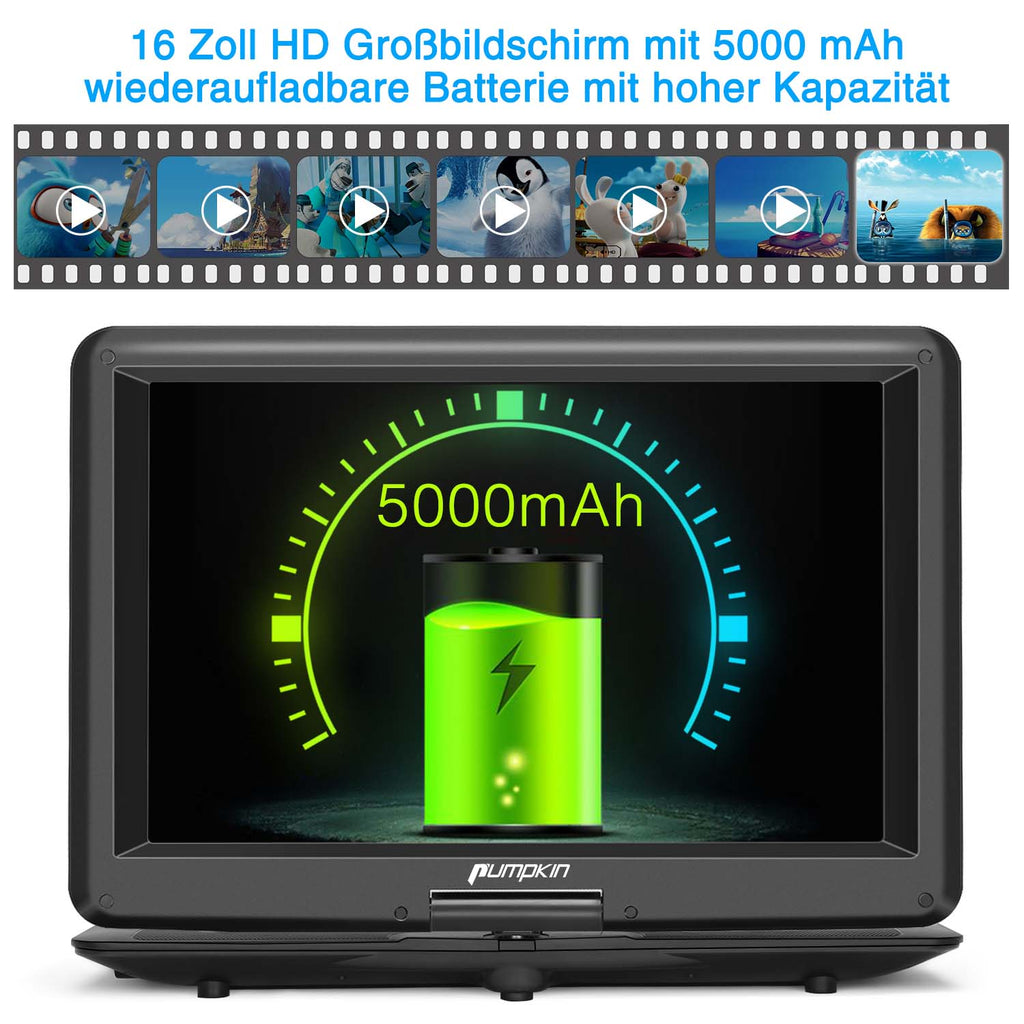 tragbarer dvd player mit akku