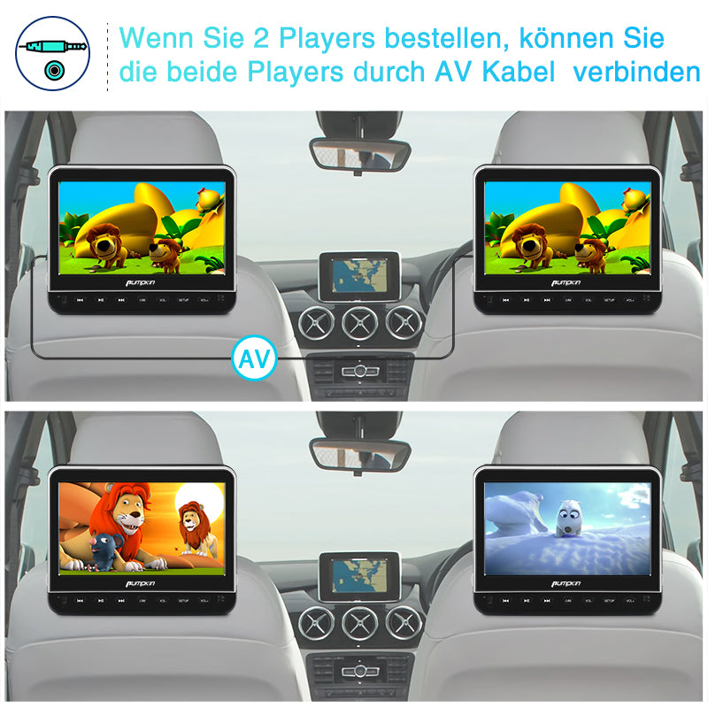 10 fernseher dvd player auto kopfst tze monitor. Black Bedroom Furniture Sets. Home Design Ideas