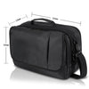 Business Messenger Bag Shoulder Bag for 10.1 inch Single Dual Screen Portable DVD Player and Tablet-Black