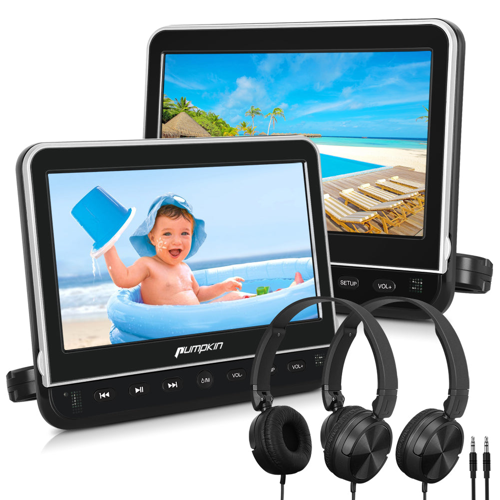 10 1 dual kopfst tzen monitore f r kinder auto dvd player. Black Bedroom Furniture Sets. Home Design Ideas