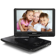 "12"" Portable Blu-ray Tragbarer DVD Player Full HD 1080P HDMI USB SD AV-IN/OUT AKKU Dolby"