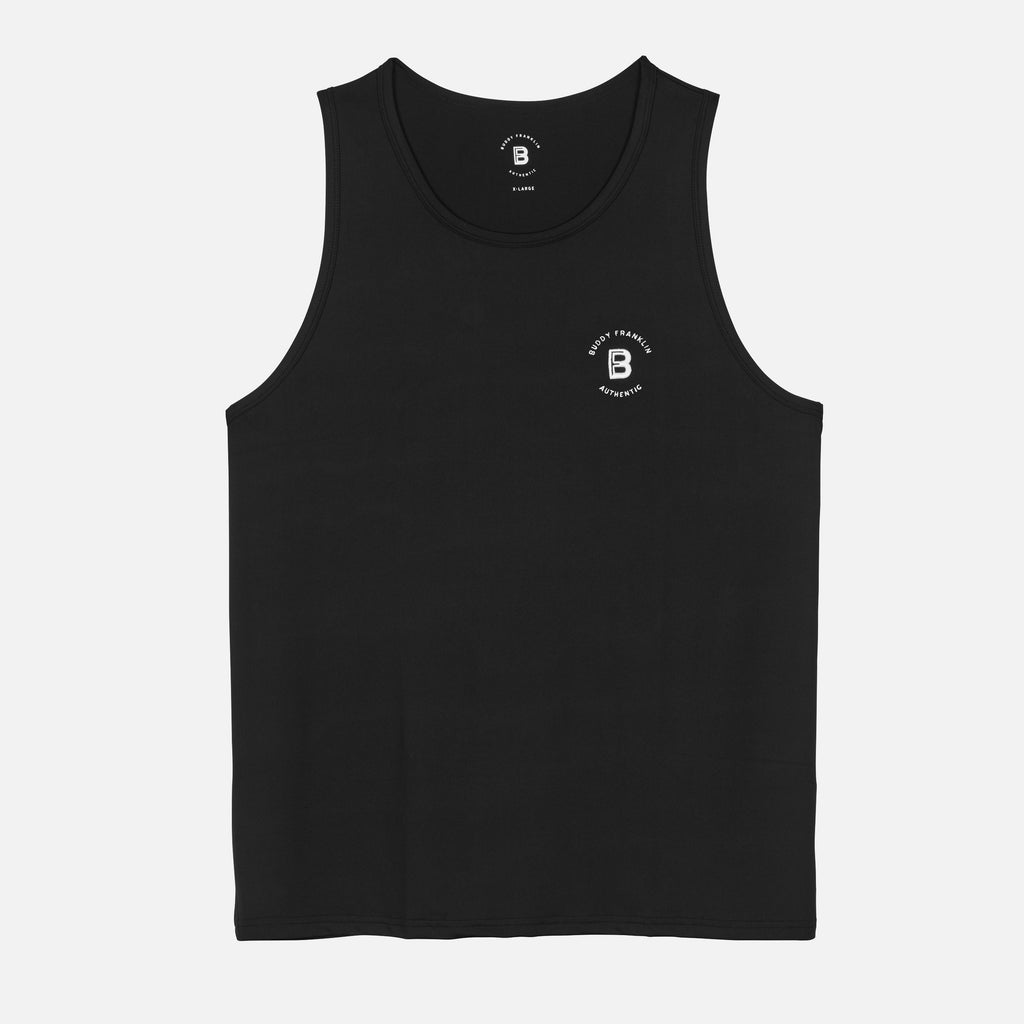 BFA TRAINING SINGLET - BLACK
