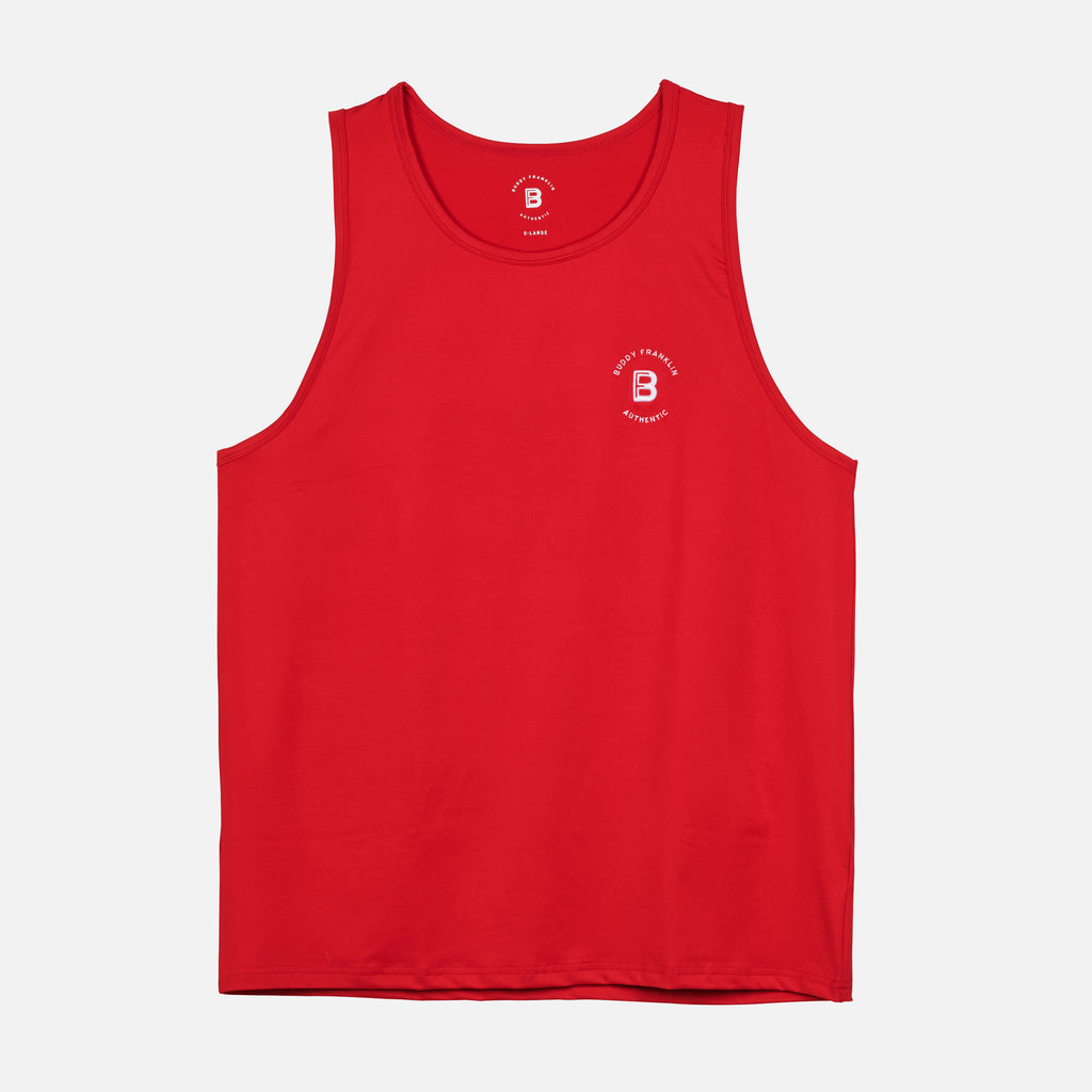 BFA TRAINING SINGLET - RED