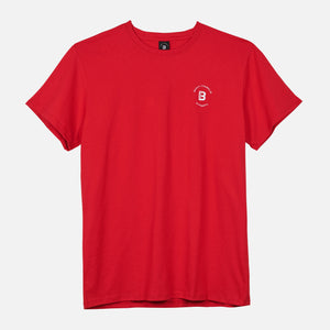 RED UNISEX FRANKLIN TEE