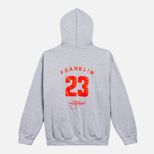 Buddy Franklin '23' Adult Unisex Hoodie in Marle Grey