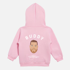 Buddy Franklin Children's Unisex Hoodie in pink