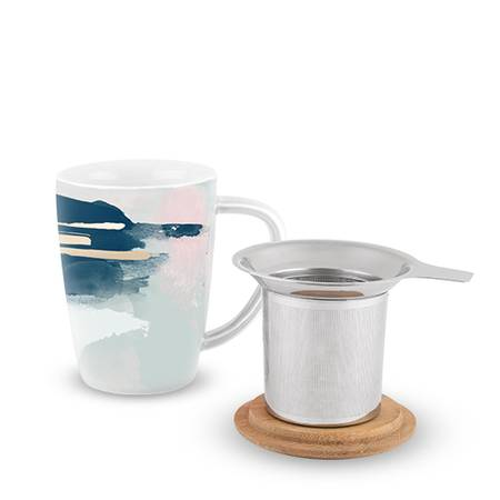 Bailey Ceramic Tea Mug & Infuser