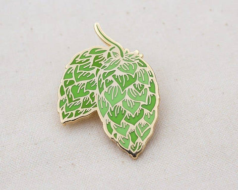 Hops Craft Beer Enamel Pin