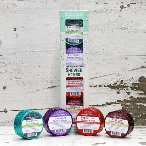 Shower Bomb - Assorted 4 pack