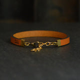 No One Fights Alone Leather Bracelet