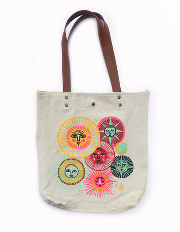 Suns Tote Bags