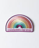 Rainbows Forever Iron On Patch