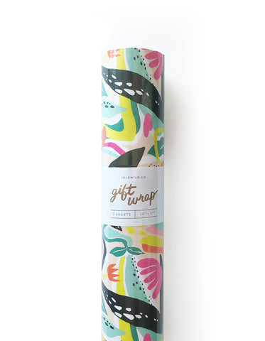 Fantastic Garden Gift Wrap - Roll of 3