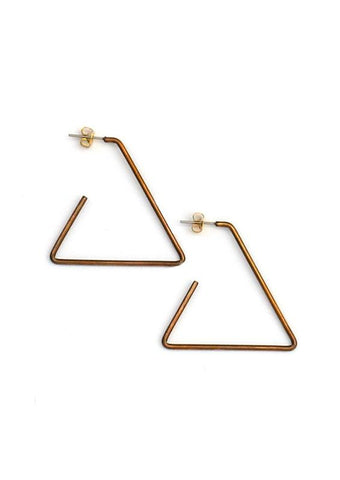 Open Triangle Hoops