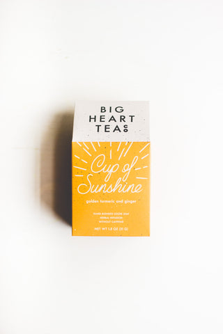 Cup of Sunshine Tumeric tea