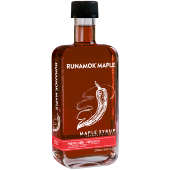 Maple Syrup - Merquén (Smoked Chili Pepper) Infused 250ml