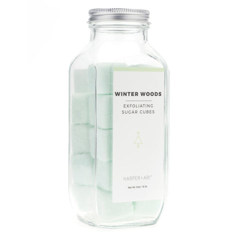 Winter Woods Sugar Cubes