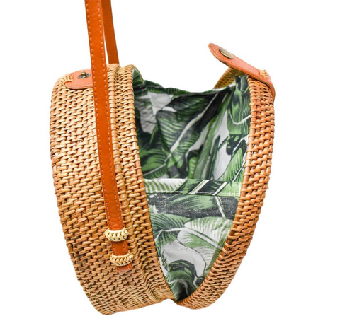 Camilla Bag: Palm Leaf