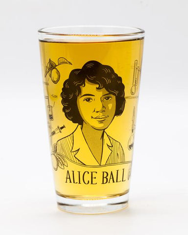 Alice Ball Heroes of Science Pint Glass