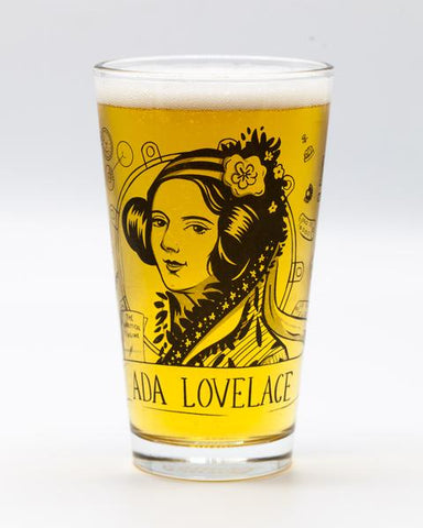 Ada Lovelace Heroes of Science Pint Glass