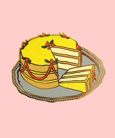 Enamel Pin// retro food pin