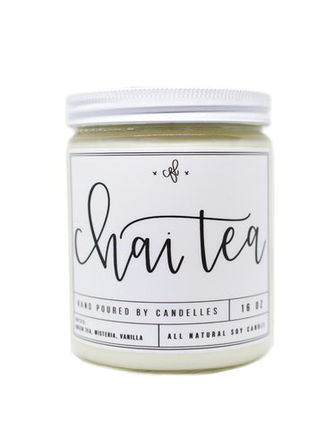 Chai Tea Scented Soy Candle