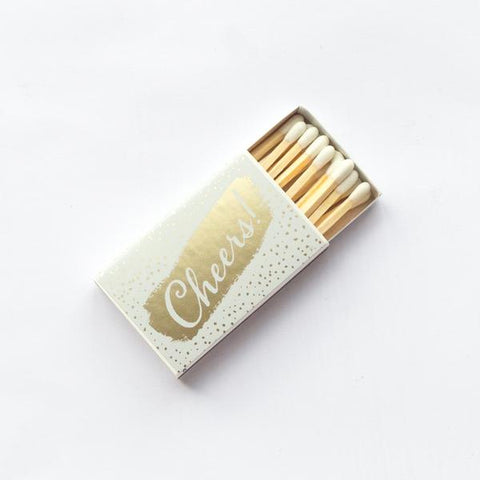 "Cheers - Small 2"" Matchbox"