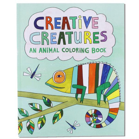 Creative Creatures - Animal Coloring Book