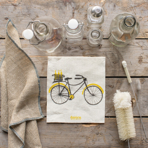 Biciclette Swedish Dish Cloth