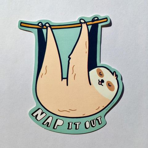 Nap It Out Sticker