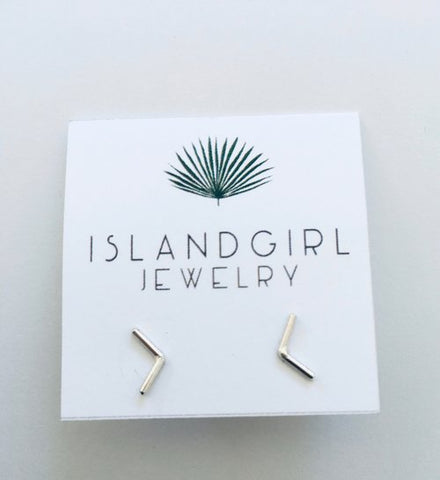 Lil Arrow Post Earrings - Sterling Silver