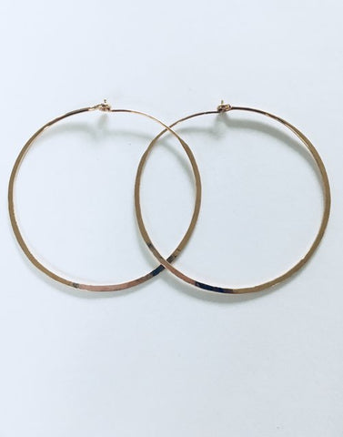 Freedom Hoops - 14K Gold Filled - 2""