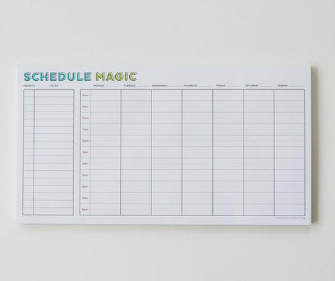 Schedule Magic Weekly
