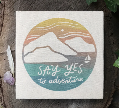 Say Yes - 8x8 Canvas