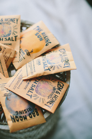 6 BLENDS / Bath Salt Packets